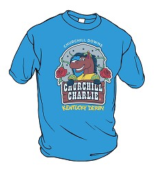 Kids' Churchill Charlie Tee Blue Large