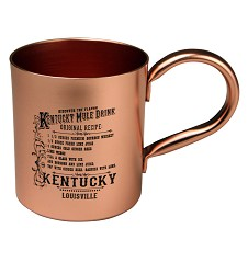 Kentucky Mule Recipe Mug