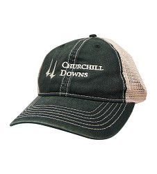 Mesh Back Tea Stain Churchill Downs Cap
