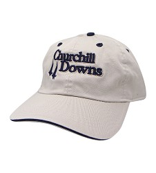 Churchill Downs Logo Bounce Stitch Cap