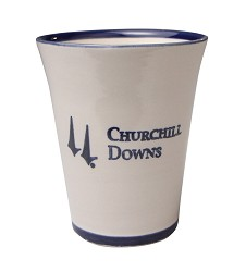 Churchill Downs Stoneware Julep Cup,CUSTD010