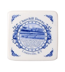 Blue Delft Porcelain Churchill Downs Magnet