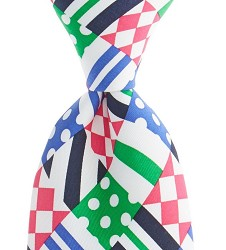 Vineyard Vines Patchwork Silk Tie