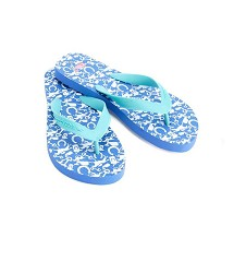 Vineyard Vines Derby Icons Flip Flops Shoe Size 6