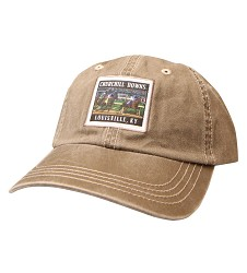 Churchill Downs Racing Label Cap