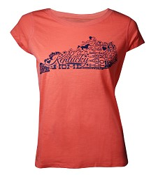 Ladies' Scoop Neck Kentucky Doodle Tee