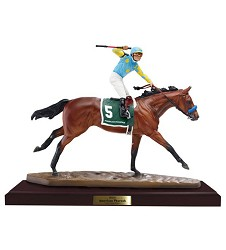American Pharoah Artist's Resin,Holiday Gifts 100 or less,9180