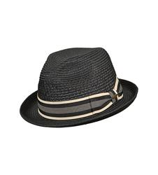 Vent Crown Braid Fedora