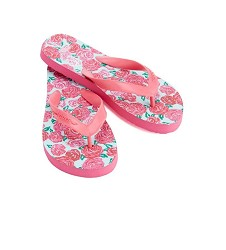 Vineyard Vines Run for the Roses Flip Flops Shoe Size 5