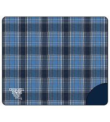 Churchill Downs Premium Flannel Blanket,FB250NLB NAVY/COL