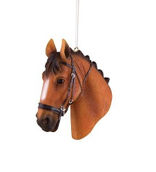 Dolan Dressage Horse Ornament,ORN72018