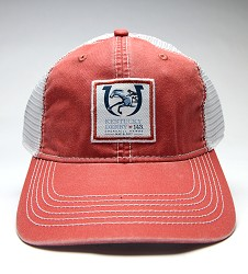 Kentucky Derby 143 Pigment Dyed Mesh Back Cap Red