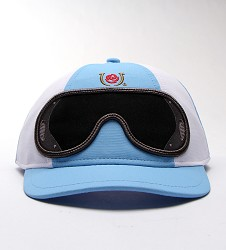 Youth Jockey Cap Light Blue One Size