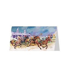 """2017 Art of the Derby Notecards-Set of 25 5""""x7"""""""