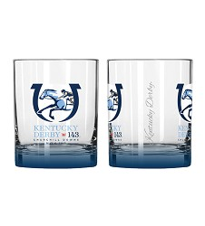 Kentucky Derby 143 Elite Rocks Glass