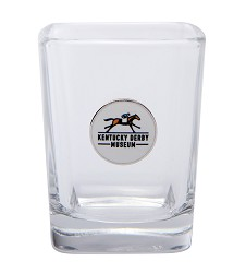 Kentucky Derby Museum Official Logo Shot Glass