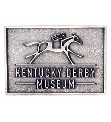 Kentucky Derby Museum Official Logo Pewter Magnet