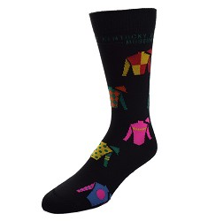 Jockey Silks All Over Socks,505-7 889536117938