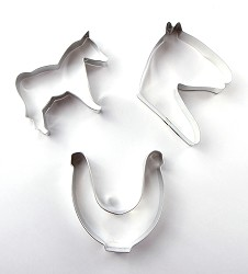 Horse-themed Cookie Cutter Gift Set