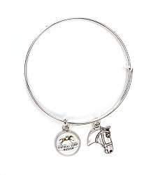 Kentucky Derby Museum Expandable Logo Bangle
