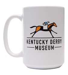 Kentucky Derby Museum Logo Mug
