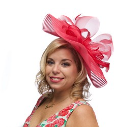 The Crinoline Fascinator,KD78DERBYF-HOT PK