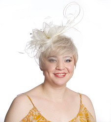 The Crinoline Veil Fascinator