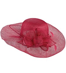 The Soft-Brim Sinamay Hat,LD70-RASP
