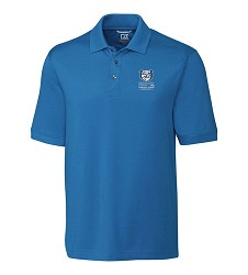 Kentucky Derby 143 Embroidered Advantage Polo Sea Blue Large