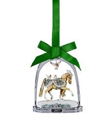 Winter Wonderland Stirrup Ornament,Holiday Gifts 25 or less,700318
