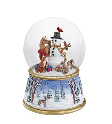 A Gathering Of Friends Snowglobe