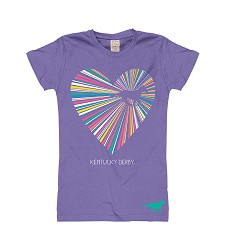 Girls' Heart Shine Horse Tee