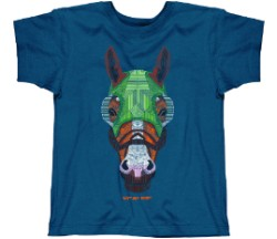 Crosshatch Racehorse Tee,5530
