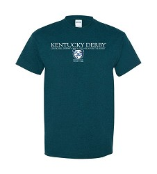 Kentucky Derby 143 Winners Tee Navy Blue Small
