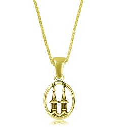 Spires Necklace Necklace,SPIRES-6518