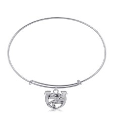 143 Logo Adjustable Bracelet,143 LOGO-6193