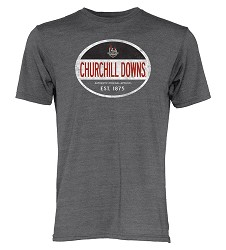 Churchill Downs 144 Mail Carrier Triblend Tee
