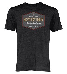Kentucky Derby 144 Gaslight Tee,MTBT2 BLACK