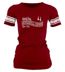 Churchill Downs Ranger Stripes Tee