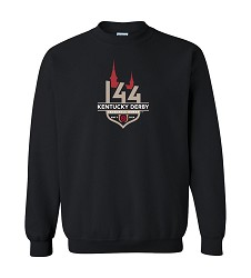 Derby 144 Official Logo Event Crewneck Sweatshirt,8KS8K K00-KDY BLACK