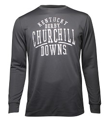 Kentucky Derby Long Sleeve Performance Tee,T76GR F17002