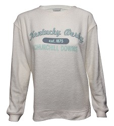 Kentucky Derby Cozy Crew Sweatshirt,L01OAT F17004