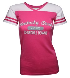 Kentucky Derby Powder Puff Tee,T65F F17004