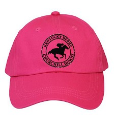 Ladie's Circle Horse Bling Cap,HP-001 HOT PINK