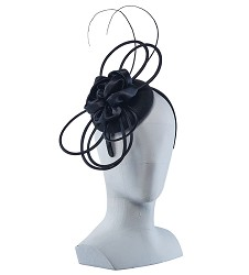 Rose Wool Felt Fascinator
