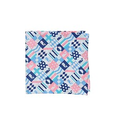 Vineyard Vines 2018 Patchwork Pocket Square