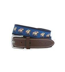 Vineyard Vines 2018 Horse Race Canvas Belt