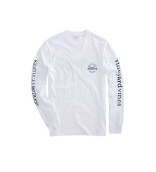 Vineyard Vines 2018 Logo Long-Sleeved Pocket Tee