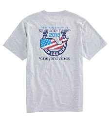 Vineyard Vines 2018 American Whale Pocket Tee