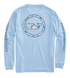 Vineyard Vines 2018 Patchwork Performance Long-Sleeved Tee